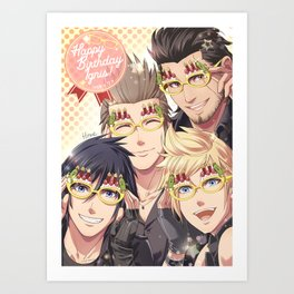 Party Glasses Art Print