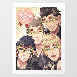 Party Glasses Art Print