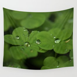 Wood Sorrel Wall Tapestry