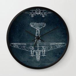 DOUGLAS DC-3 - First flight 1935 Wall Clock