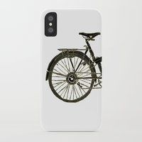 bicycle iPhone & iPod Cases featuring Bicycle by chyworks