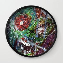Fear Equals Rage Wall Clock