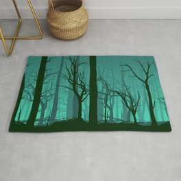 forest dead Rug