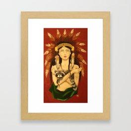 Headdress Framed Art Print