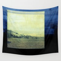 bridge Wall Tapestries featuring Bridge by Neelie