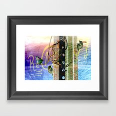 City Birds 02 Framed Art Print