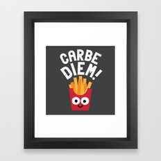 SuperSeize the Day Framed Art Print
