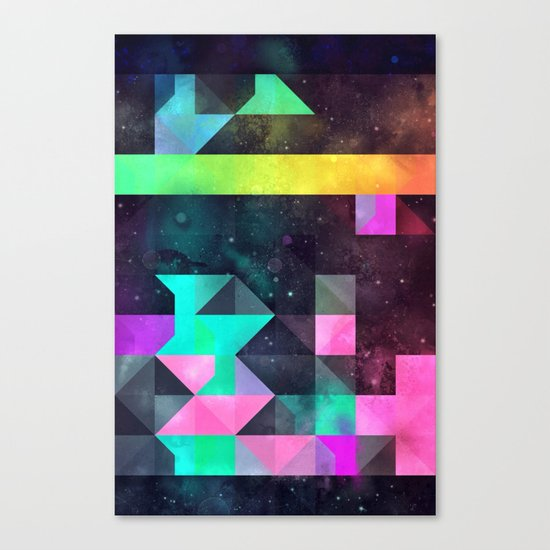 hyppy f'xn rysylyxxn Canvas Print