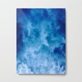 The Texture of Water Metal Print