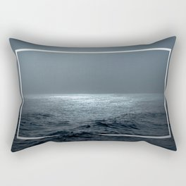 Twilight Geometry Rectangular Pillow