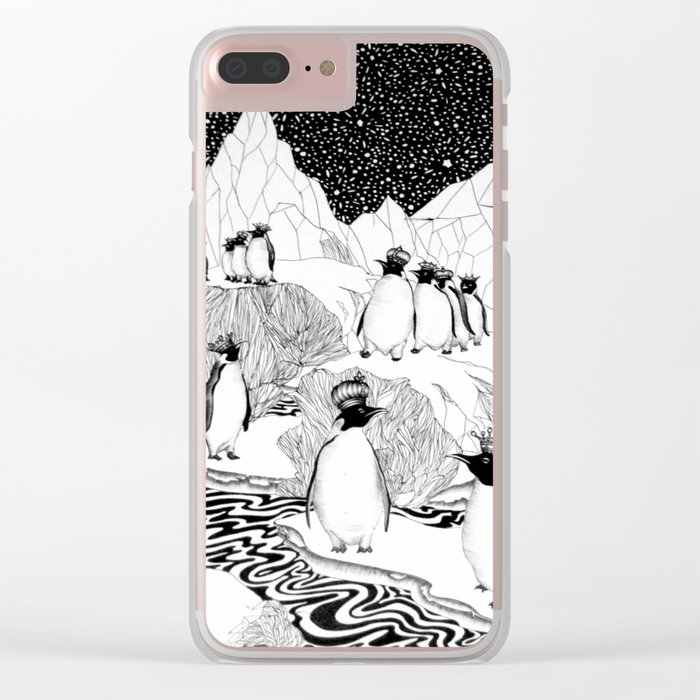 Too Many Kings Clear iPhone Case