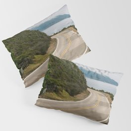 Big Sur Highway 1 Wall Art | California Nature Mountains Ocean Beach Coastal Travel Photography Print Pillow Sham