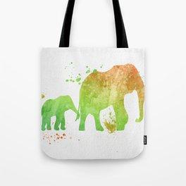 Elephants 020 Tote Bag