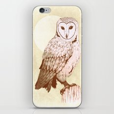Barn Owl recolour iPhone & iPod Skin