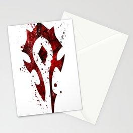 Horde Splatter Stationery Cards