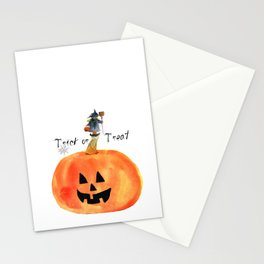 Trick or Treat Stationery Cards