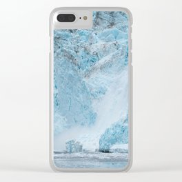 Icy Thunder Clear iPhone Case