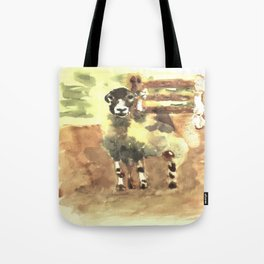 Sheep under the bridge Tote Bag