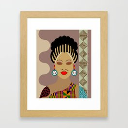 African Queen III Framed Art Print