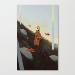 Mr. Albert Canvas Print