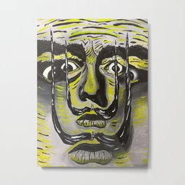 The Dali Man Metal Print