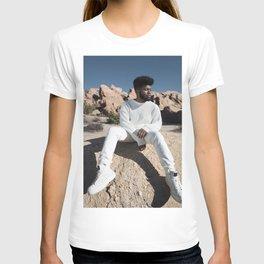 Khalid music star pop music Silk poster T-shirt