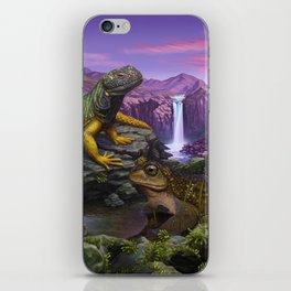Cold blooded iPhone Skin