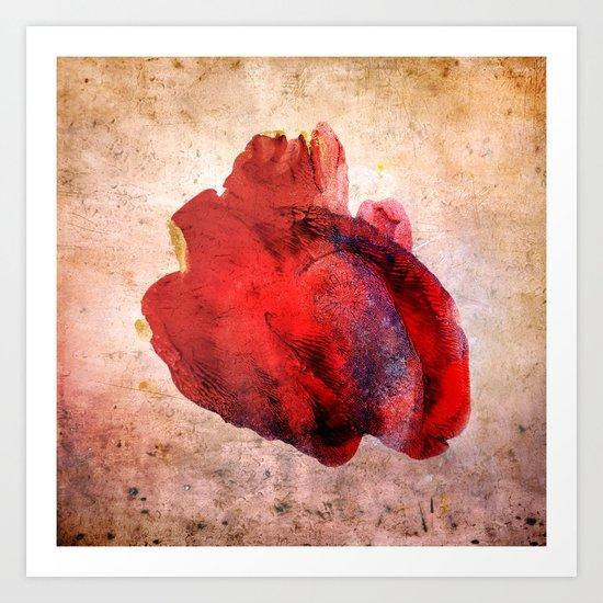 A Heart Art Print