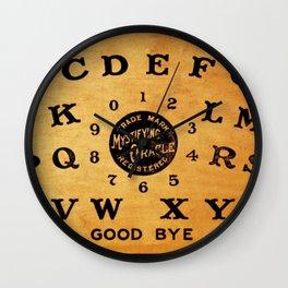 Ouija Board 3 Wall Clock