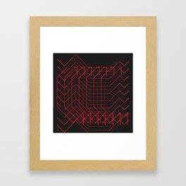 //RED Framed Art Print