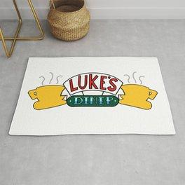 Luke's Diner - Central Perk Rug