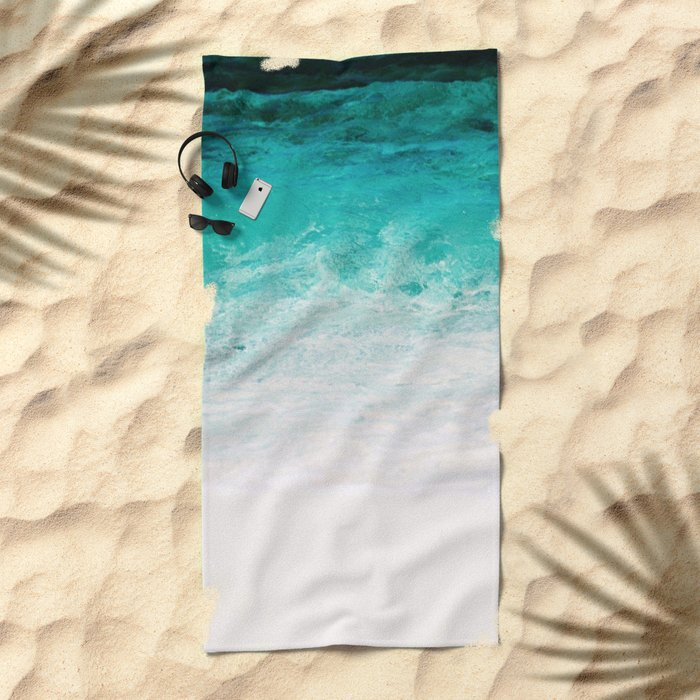 Shades of the Ocean Beach Towel