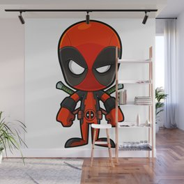 Chibi pool Wall Mural