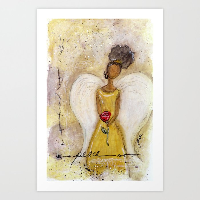 Angel of Peace 2 Art Print