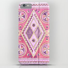 Pink Najd Door iPhone Case