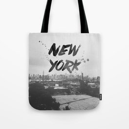 New York Baby Tote Bag