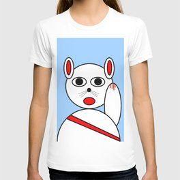 Maneki neko red version T-shirt