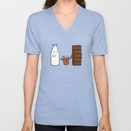 Milk + Chocolate Unisex V-Neck