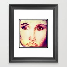Love Your Fate Framed Art Print