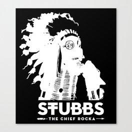 The Chief Rocka Canvas Print