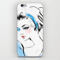 cinderella iPhone & iPod Skins featuring Cinderella  by putemphasis