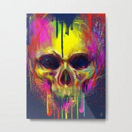 Skull Candy Metal Print