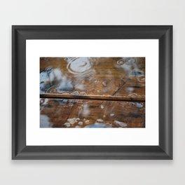Rainy Day - Mt Glorious, SE Queensland Framed Art Print