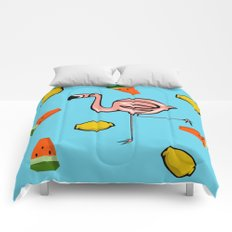 Flamingo Tropical Comforters