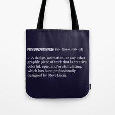 Halucinated Defined Tote Bag