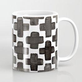 Black & White Crosses - Katrina Niswander Coffee Mug