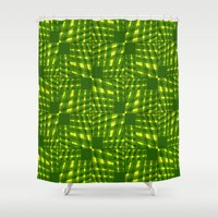 palm Shower Curtains featuring Palm  by dominiquelandau