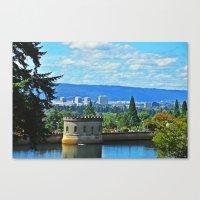 portlandia Canvas Prints featuring Portlandia by Keianh