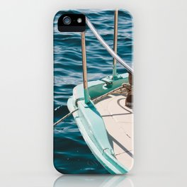 BOAT - WATER - SEA - PHOTOGRAPHY iPhone Case