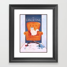 Libertine Framed Art Print